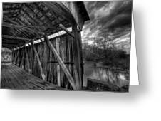 Trinity Road Covered Bridge Greeting Card
