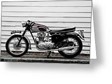 Triumph Trophy Tr6r 1961 Greeting Card