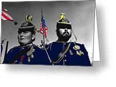 Troopers Indian Wars Memorial Encampment Ft. Lowell Tucson Arizona 1970-2008 Greeting Card