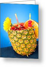 Tropical Drink Greeting Card