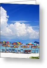 Tropical Holiday Destination Greeting Card