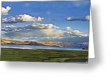 Tsomoriri Lake Leh India Greeting Card