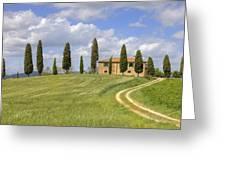 Tuscany - Pienza Greeting Card