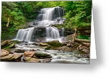 Tuscarora Falls Greeting Card