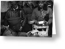 Tuskegee Airmen, 1945 Greeting Card by Granger