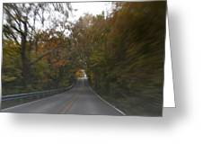 Twice The Speed Of Autumn Greeting Card