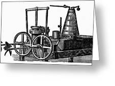 Twin-screw Steamer, 1878 Greeting Card
