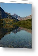 Two Medicine Lake Greeting Card