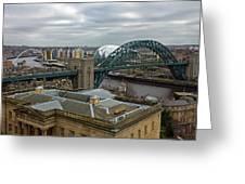 Tyne Bridge Greeting Card