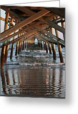 Under The Pier II Greeting Card