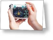 Underwater Camera Greeting Card