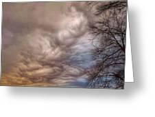 Undulatus Asperatus Clouds Greeting Card