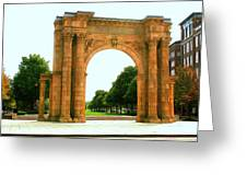 Union Station Arch Greeting Card