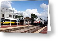 Union Station Dallas Texas Greeting Card