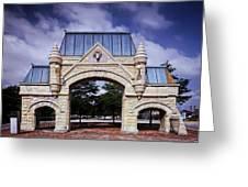 Union Stock Yard Gate - Chicago Greeting Card
