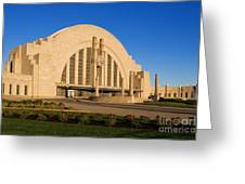 Union Terminal, Cincinnati Greeting Card