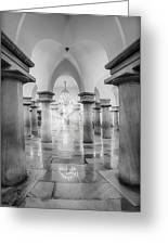 United States Capitol Crypt Greeting Card