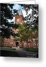 University Hall  Greeting Card