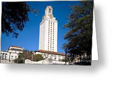 University Of Texas At Austin Greeting Card
