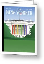 New Yorker May 21st, 2012 Greeting Card