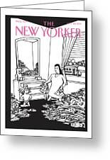 New Yorker September 26th, 2011 Greeting Card