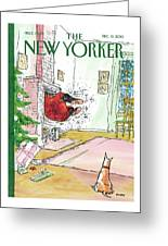 New Yorker December 13th, 2010 Greeting Card