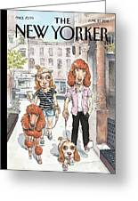 New Yorker June 27th, 2011 Greeting Card