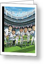 New Yorker April 8th, 2013 Greeting Card