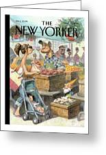 New Yorker May 30th, 2011 Greeting Card