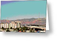 Urban West Greeting Card
