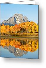 Usa, Grand Teton National Park Wyoming Greeting Card