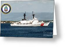 Uscgc Boutwell Greeting Card