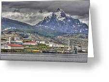 Ushuaia Greeting Card by Bryan Hochman