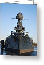Uss Texas Bow Greeting Card