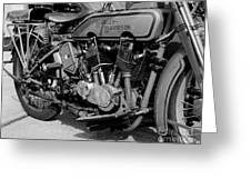 V-twin Engine Greeting Card