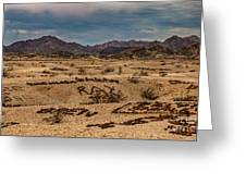 Valley Of The Names Greeting Card by Robert Bales