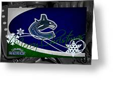 Vancouver Canucks Christmas Greeting Card