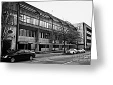 Vancouver Police Department Station 236 Cordova Street Bc Canada Greeting Card by Joe Fox