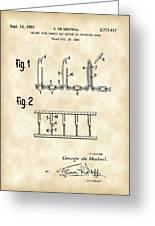 Velcro Patent 1952 - Vintage Greeting Card