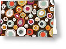Veneto Boho Spot Chocolate Greeting Card