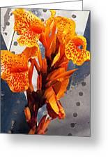 Ventura Flower Greeting Card by Ron Regalado