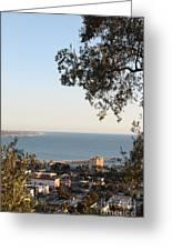 Ventura Skyline Greeting Card
