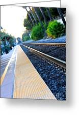 Ventura Train Station Greeting Card