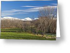 Vermont November Greeting Card