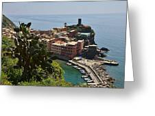 Vernazza - Cinque Terre Greeting Card