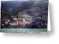 Vernazza Greeting Card by Joana Kruse