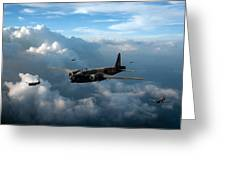 Vickers Wellingtons With 16 Otu Greeting Card