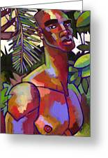 African Forest Greeting Card