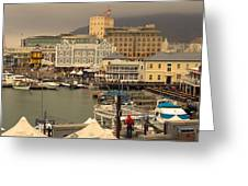 Victoria And Albert Waterfront Greeting Card