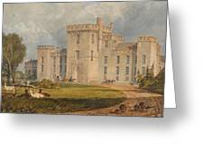 View Of Hampton Court Greeting Card